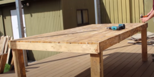 Woodwork Pallet Table